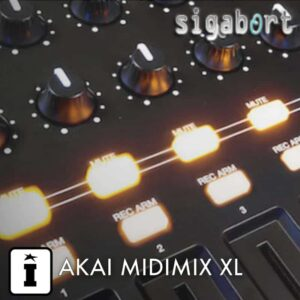 AKAI MIDIMIX XL by Sigabort Ableton Control Surface Script