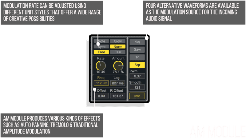 AM Module MaxforLive Audio Device