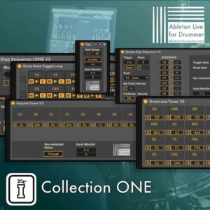 Ableton Drummer Collection ONE MaxforLive Pack