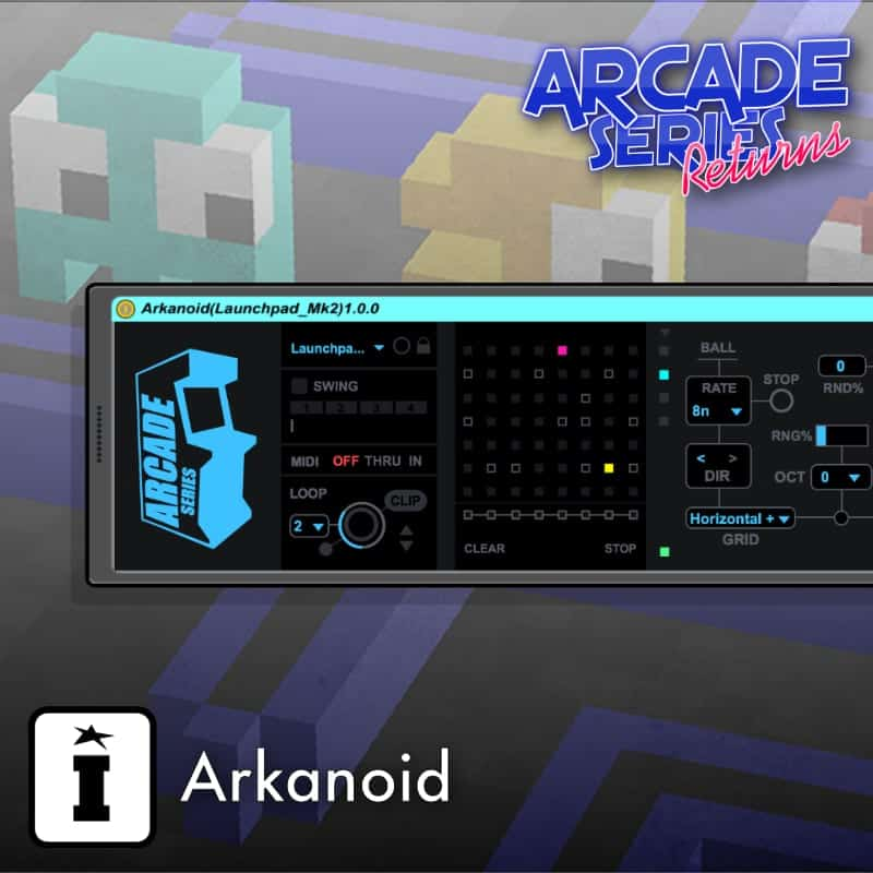 Arkanoid by Mark Towers