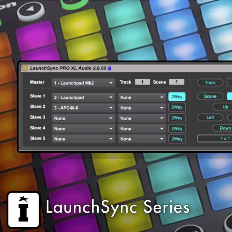 LaunchSync Series MaxforLive Control Device