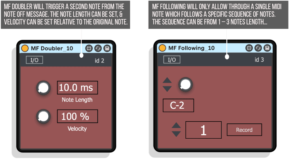 MIDI Filter Ten Pack Doubler Following Infographic