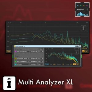 Multi Analyzer XL MaxforLive Audio Device