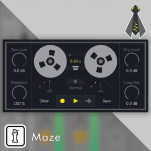Maze MaxforLive device by NOISS COKO