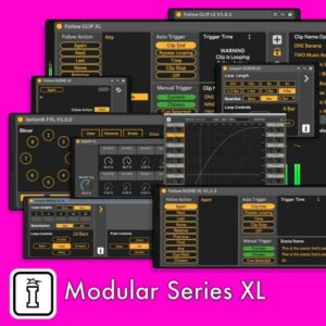 Modular Series XL MaxforLive device for Ableton Live