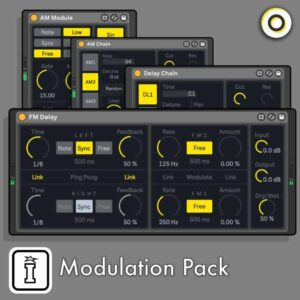 Modulation Pack MaxforLive Modulation Devices for Ableton Live