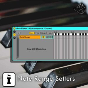 Note Range Setters Ableton Live Pack