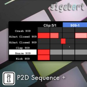 P2D Sequence MaxforLive Push 2 Device