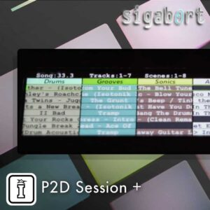P2D Session Plus MaxforLive Push 2 Device