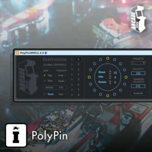 PolyPin MaxforLive MIDI Sequencer