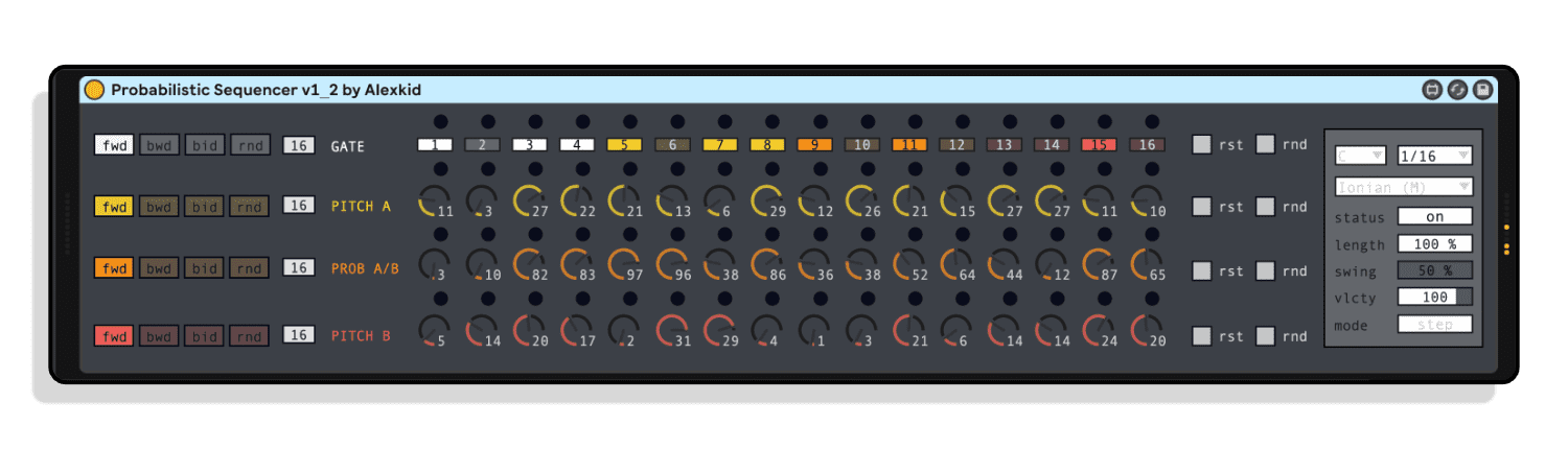 Probalistic Sequencer by Alexkid
