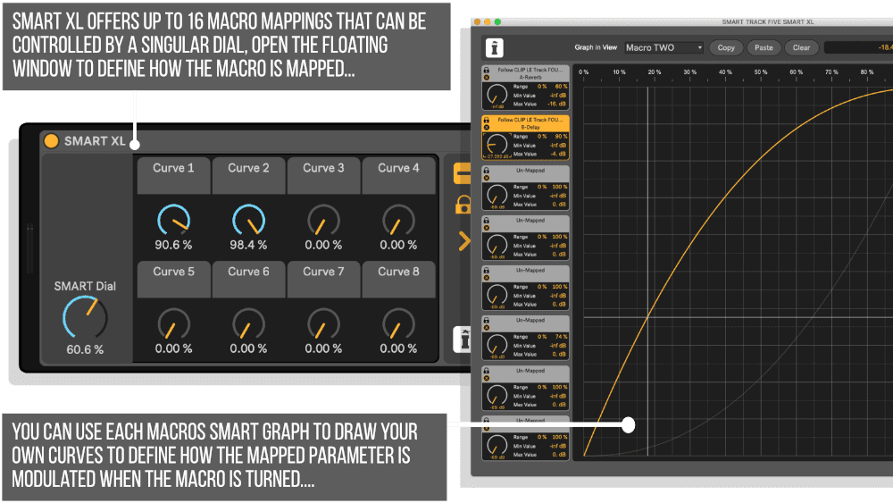 SMART XL MaxforLive device for Ableton Live