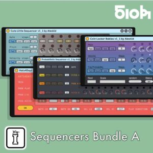 Sequencer Bundle A by Alexkid MaxforLive Sequencers for Ableton Live