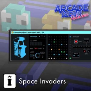 Space Invaders MaxforLive MIDI Sequencer