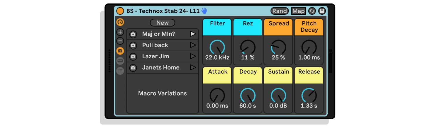 Technox Stab - Inspired Rave Stabs by Euphony Sound Labs