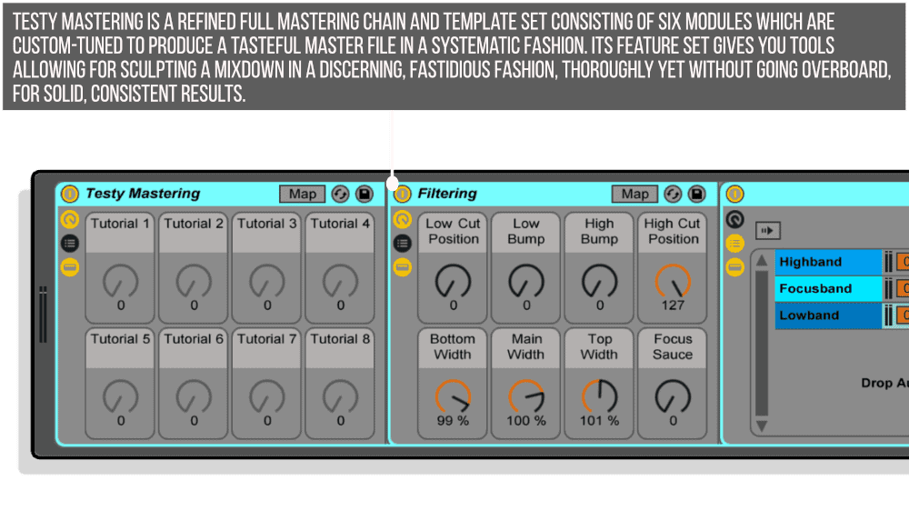 Testy Mastering Infographic