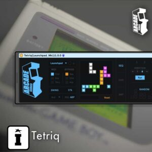 Tetriq MaxforLive MIDI Sequencer