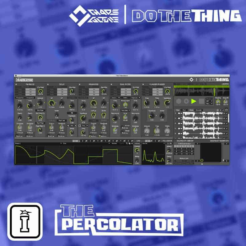 The Percolator MaxforLive Effect Device by Chaos Culture and Do The Thing